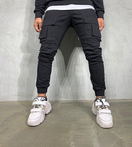 Мужские модные джинсы CARGO, Турция (два цвета)
