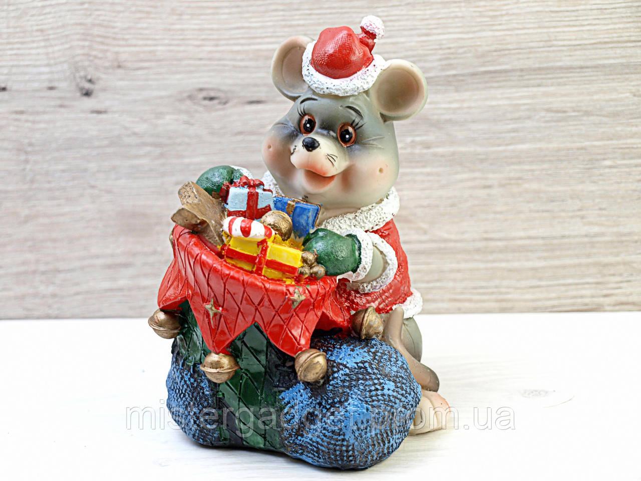Сувенир копилка Крыса подарок