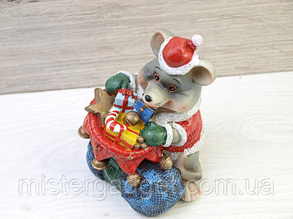 Сувенир копилка Крыса подарок, фото 2