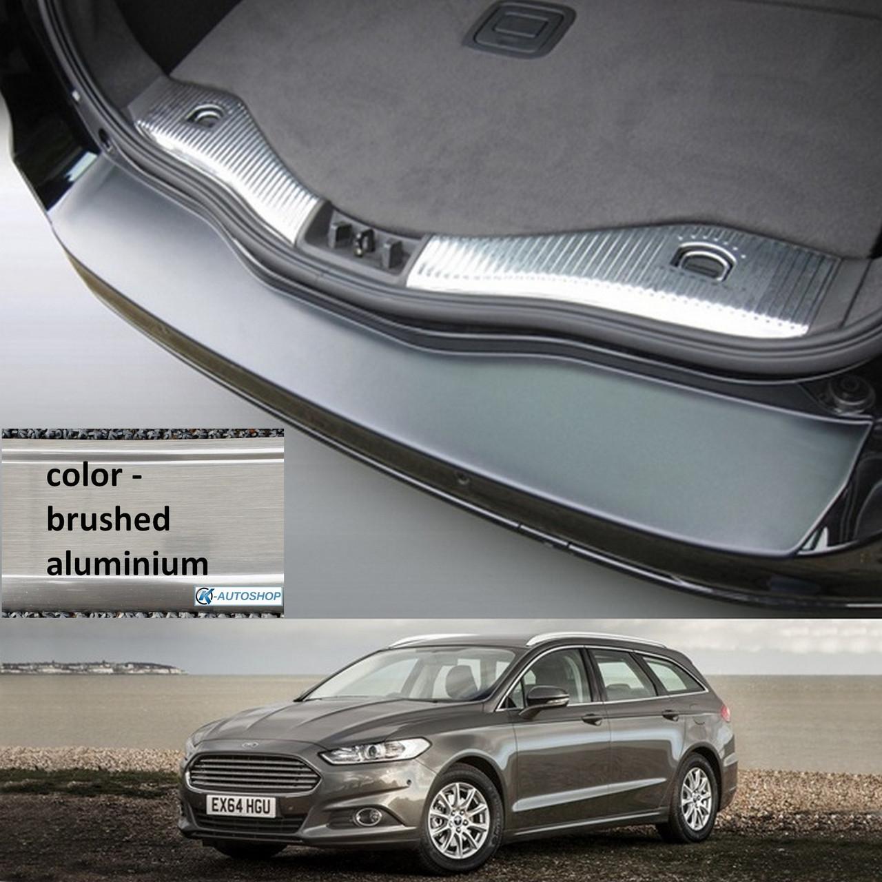 Пластикова захисна накладка на задній бампер для Ford Mondeo Mk5 Turnier 2014>