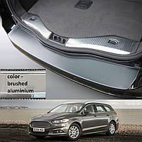 Пластикова захисна накладка на задній бампер для Ford Mondeo Mk5 Turnier 2014>, фото 1