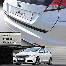 Пластикова захисна накладка на задній бампер для Honda Civic Mk9 5Dr H/B 2011-2014