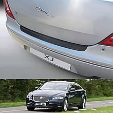 Пластикова захисна накладка на задній бампер для Jaguar XJ 4dr sedan 2010+