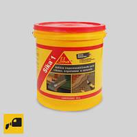 Герметизирующая добавка для строительных растворов Sika-1, 1кг