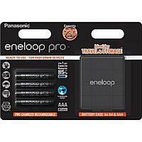 Аккумулятор PANASONIC Eneloop Pro AAA 930 mAh * 4 + Case (BK-4HCDEC4BE)