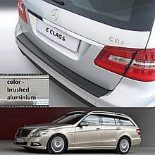 Mercedes-Benz E-Class W212T Touring 2009-2013 пластикова накладка заднього бампера