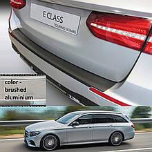 Пластикова захисна накладка на задній бампер для Mercedes-Benz E-Class W213T Touring 2016+
