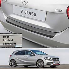 Пластикова захисна накладка на задній бампер для Mercedes-Benz A-Class W176 2015-2018
