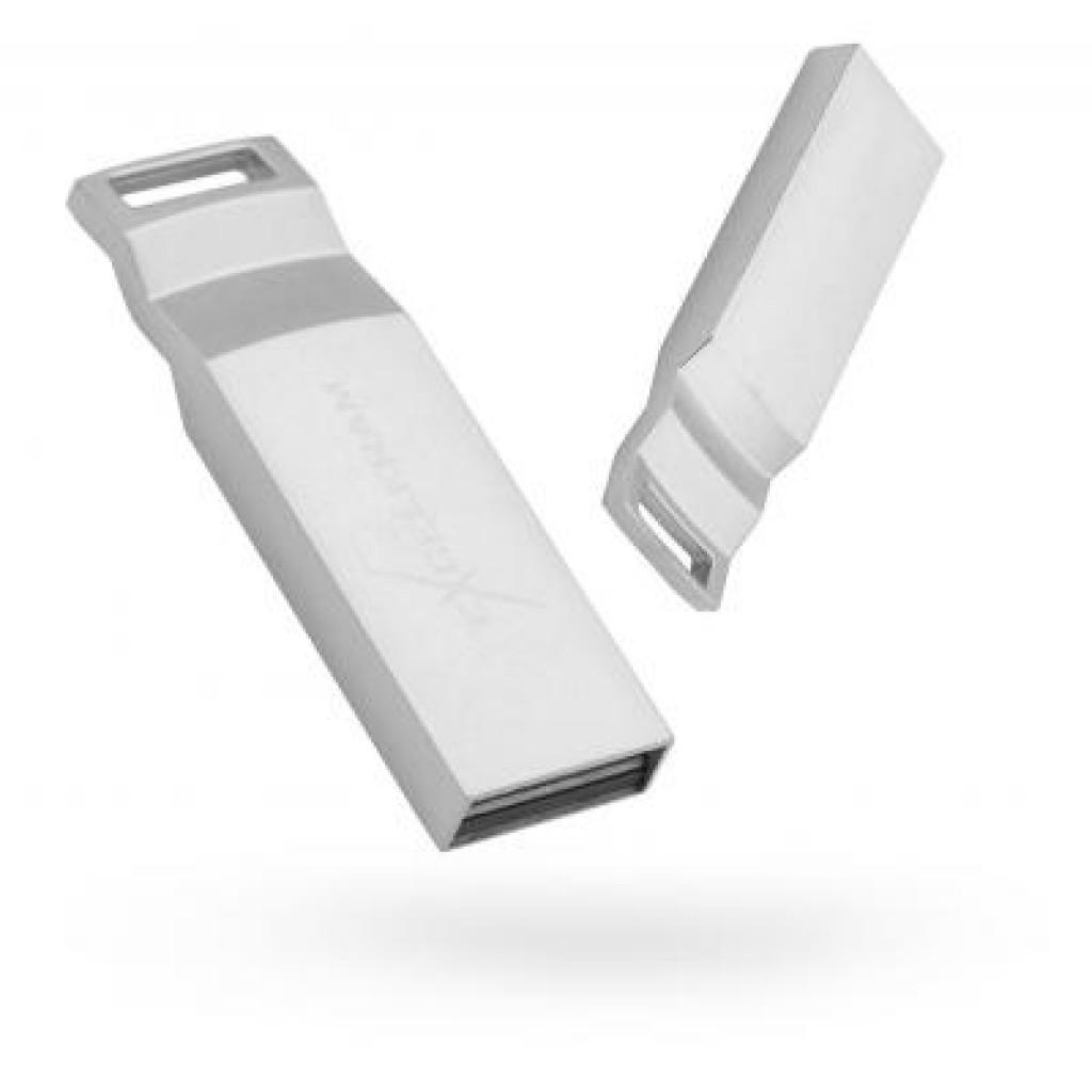 USB флеш накопитель eXceleram 32GB U2 Series Silver USB 2.0 (EXP2U2U2S32)