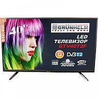 Телевизор 40 дюймов Grunhelm GTV40T2F Full HD 1920х1080 (80016)