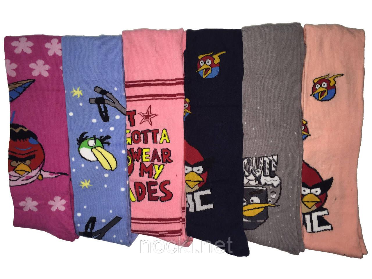 "Колготки дитячі бавовна Шугуан ""Angry Birds"" ріст 98-104"