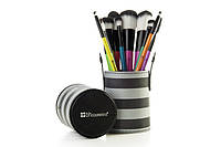 Набор кистей в тубусе 10 pc Pop Art Brush Set BH Cosmetics Оригинал