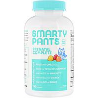 SmartyPants, предродовой комплекс, со вкусом лимона, апельсина, клубники с бананом, 120 жевательных конфет,,