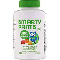 SmartyPants, Комплекс для детей с клетчаткой, 120 жевательных таблеток
