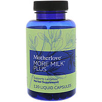 Motherlove, More Milk Plus, 120 жидких капсул