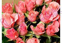 Вафельная картинка Розы