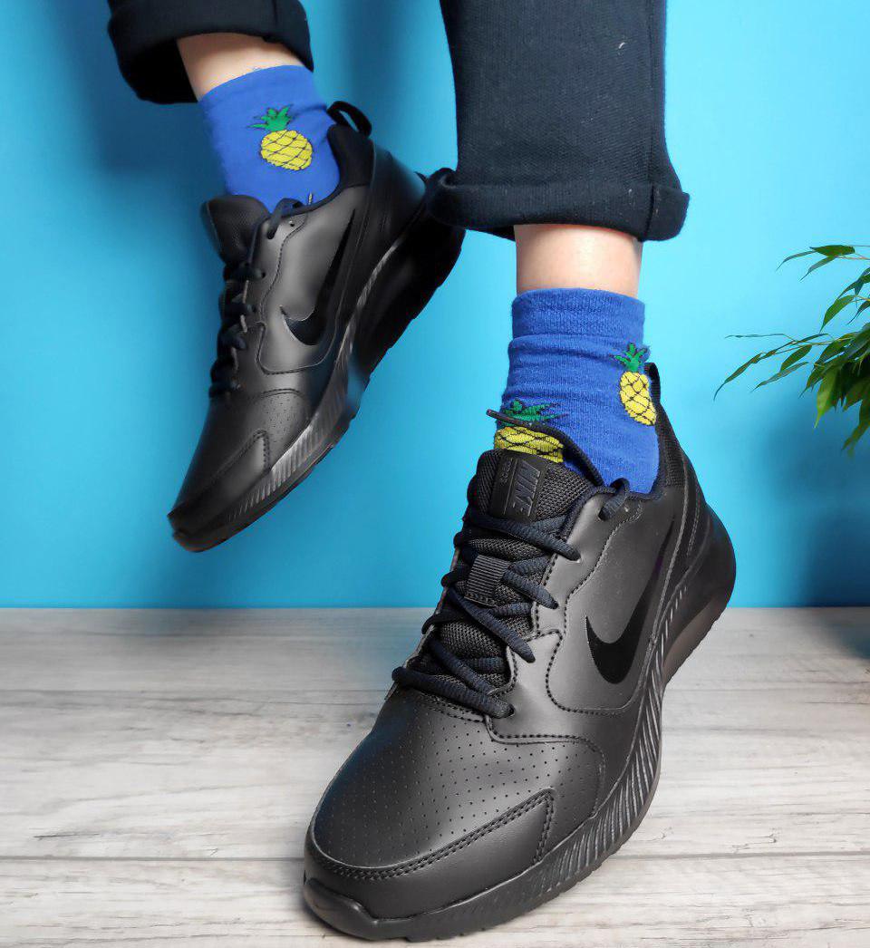 Кроссовки мужские Nike TODOS 31401 черные