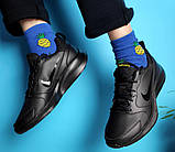 Кроссовки мужские Nike TODOS 31401 черные, фото 2