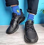 Кроссовки мужские Nike TODOS 31401 черные, фото 3
