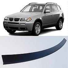 Пластикова захисна накладка на задній бампер для BMW X3 E83 2006-2010
