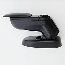 Подлокотник Armcik S4 со сдвижной крышкой и регулируемым наклоном для  Fiat 500X 2014+