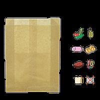 Бумажный пакет без ручек крафтовый 390*270*70 (ВхШхГ) 70г/м² 100шт (100)