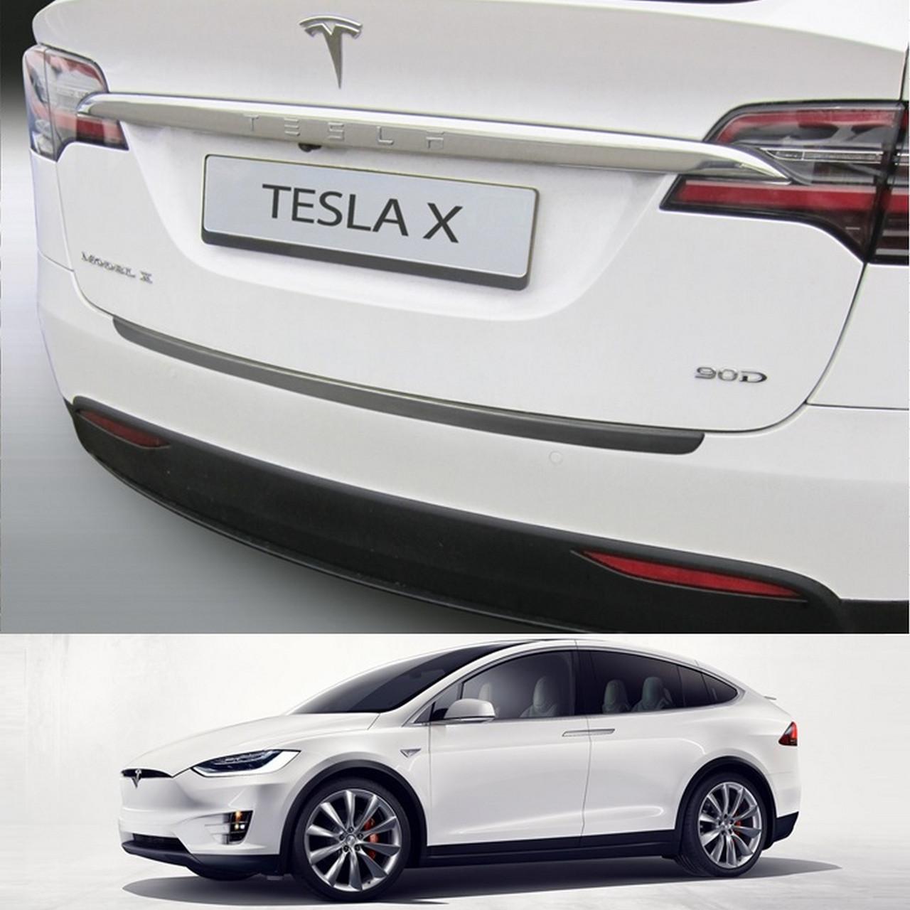 Пластиковая накладка заднего бампера для Tesla Model X 2015+