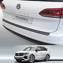 Volkswagen Touareg 2018+ пластиковая накладка заднего бампера