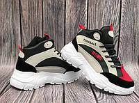 Женские ботинки Fens BLACK