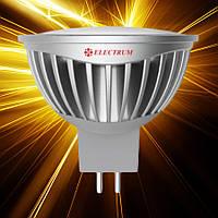 Светодиодная лампа ELECTRUM MR16 5W GU5.3 4000 AL LR-20