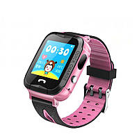Водонепроницаемые часы с GPS Smart Baby Watch Aqua IQ600-PLUS Розовый (ytlE24983)