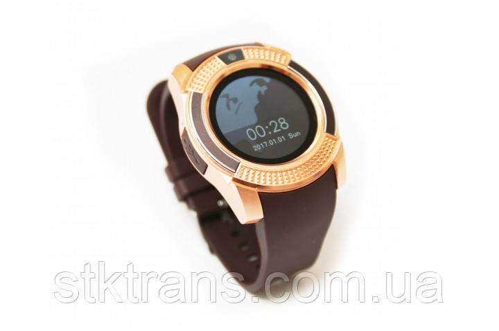 Смарт-часы Smart Watch Phone V8 Gold