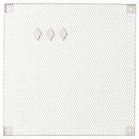 IKEA SODERGARN Доска для заметок, белая, 60x60 см (104.338.28)