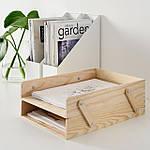 IKEA KLAMMEMACKA Контейнер для бумаги, натуральная фанера (504.288.20), фото 2