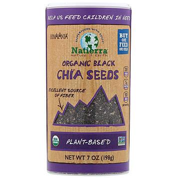 Himalania, Organic Black Chia Seeds, 7 oz (198 g)