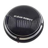 Міні робот-пилосос SUNROZ Sweep Robot 500 mAh Чорний (SUN3442), фото 2