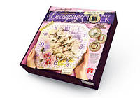 "Комплект креативного творчества ""Decoupage Clock Котята"", с рамкой DKC-01-10 sco"