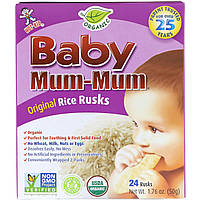 Hot Kid, Baby Mum-Mum, Organic Risk Rusks, Original, 24 Rusks, 1.76 oz 50 g