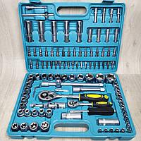 Набор ключей головок Титул 108 единиц инструментов
