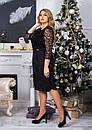 Женское нарядное платье  АллаСт №4014 бутилка, фото 2