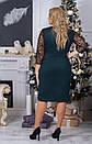 Женское нарядное платье  АллаСт №4014 бутилка, фото 4
