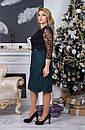 Женское нарядное платье  АллаСт №4014 бутилка, фото 8