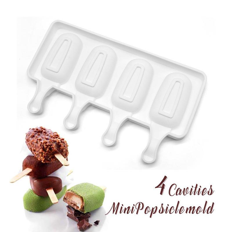 Силиконовая форма Эскимо для десертов и мороженого 7*3,8см