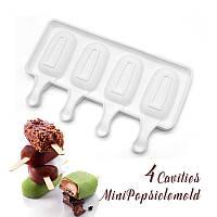 Силиконовая форма Эскимо для десертов и мороженого 7*3,8см, фото 1