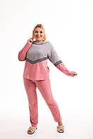 Домашний костюм для женщин, пижама из велюра