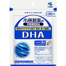 Kobayashi Pharmaceutical DHA 300 мг EPA 30 мг  90 капсул на 30 дней