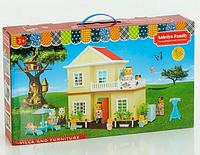 Домик детский игровой Happy Family.Детский двухэтажный домик.Дачный домик Happy Family.