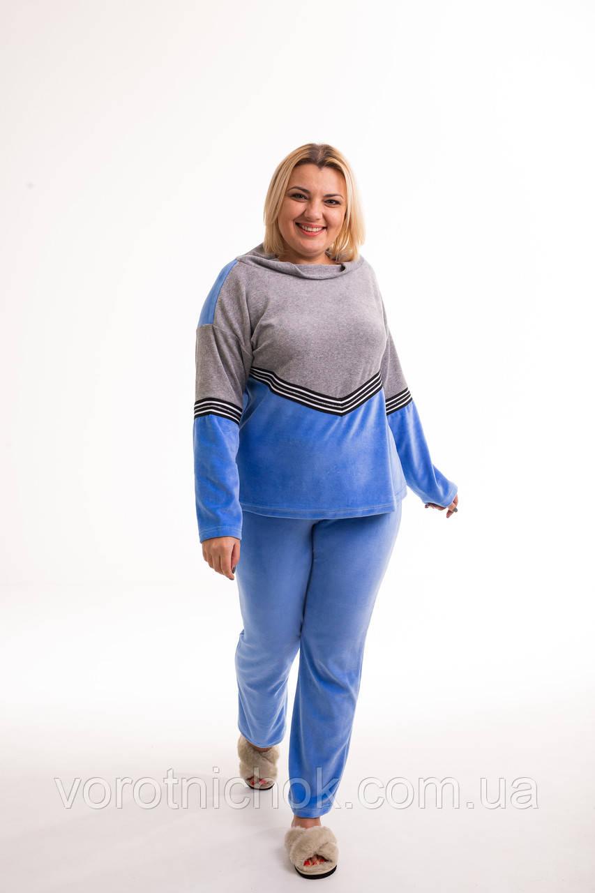 Домашний женский костюм для женщин из велюра