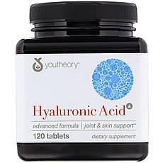 Youtheory, Hyaluronic Acid, Advanced Formula, 120 Vegetarian Capsules