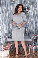 Женское Нарядное Платье Батал, фото 1